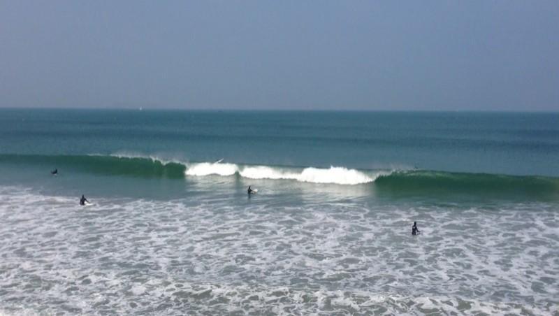Surf report Saint-Malo - Le Sillon - France (35) 2013-03-31 17:26:00
