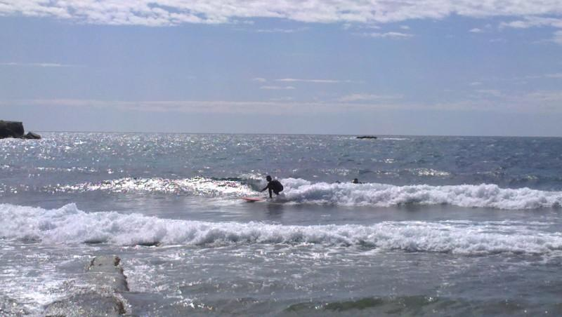 Surf report Sausset les Pins - Plage du Port - France (13) 2013-04-12 12:00:00