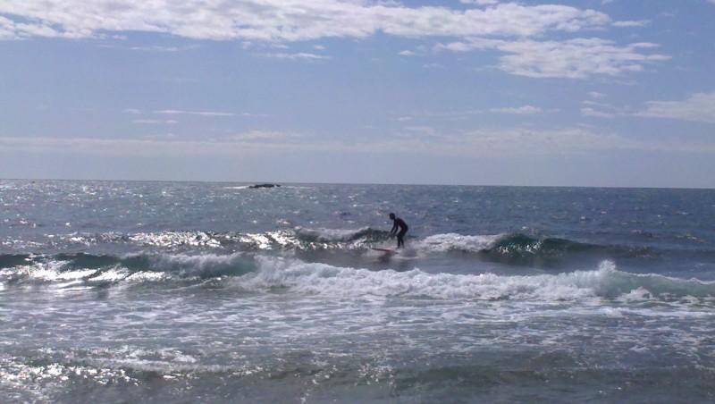 Surf report Sausset les Pins - Plage du Port - France (13) 2013-04-12 12:00:00
