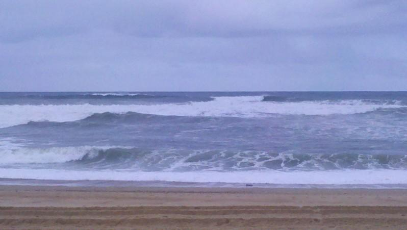 Surf report Vieux Boucau - France (40) 2013-04-19 09:40:00