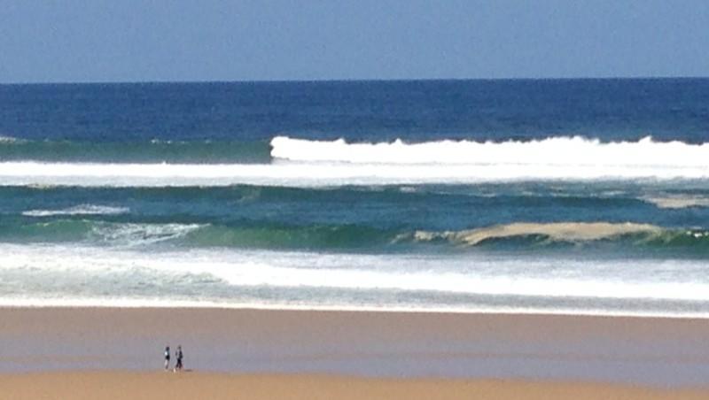 Surf report Mimizan - Plage Garluche - France (40) 2013-05-10 12:00:00