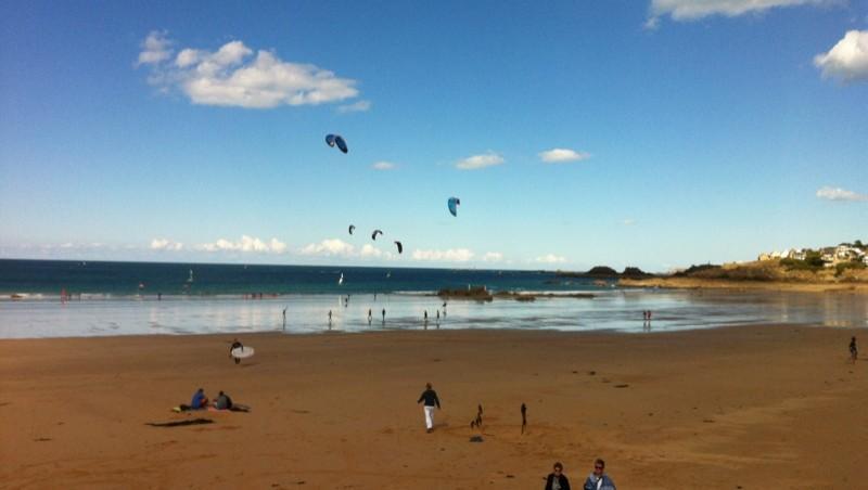 Surf report Longchamp - France (35) 2013-09-07 16:43:00