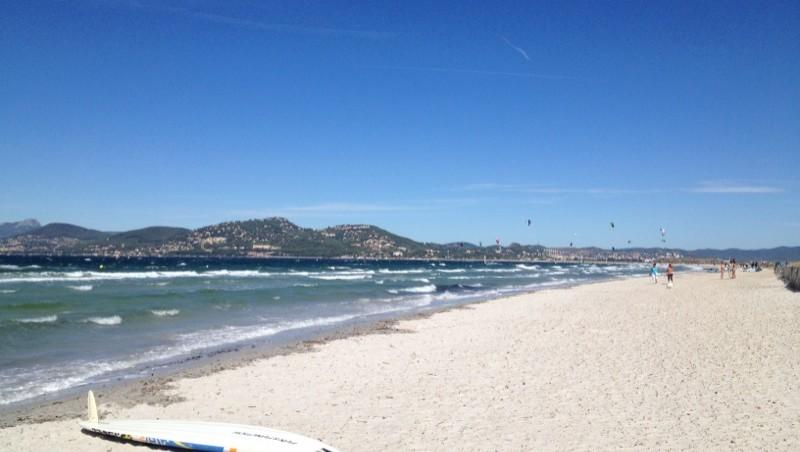 Surf report L'Almanarre - France (83) 2013-09-09 12:00:00