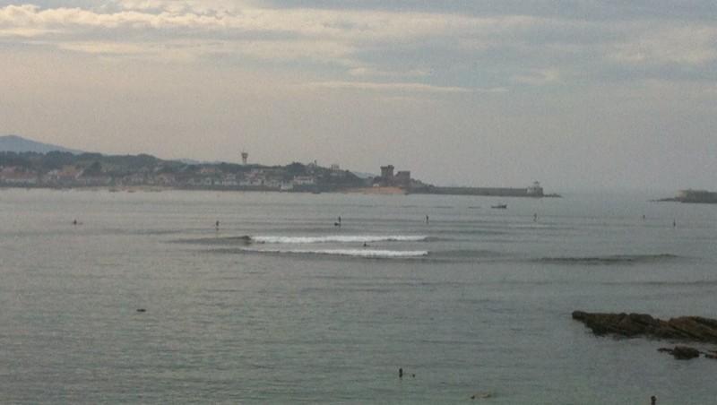 Surf report Sainte Barbe - France (64) 2013-09-25 16:40:00