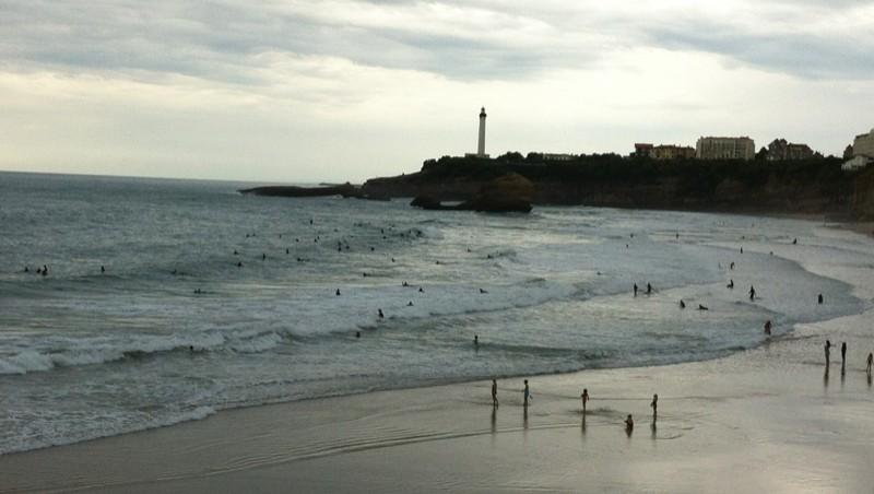 Surf report Biarritz - Grande Plage - France (64) 2013-10-26 16:31:00