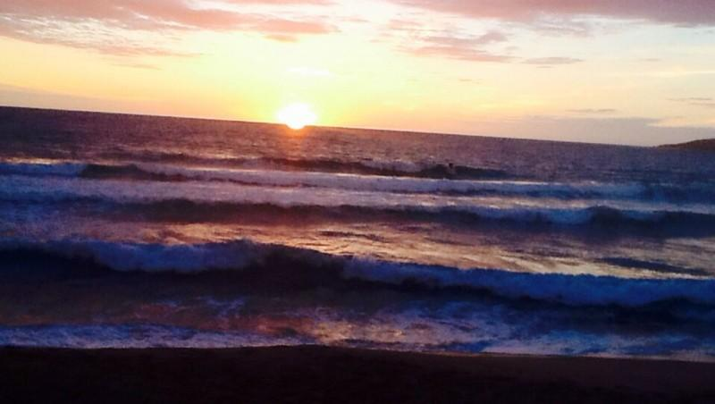 Surf report La Liscia - France (2A) 2013-11-03 19:00:00