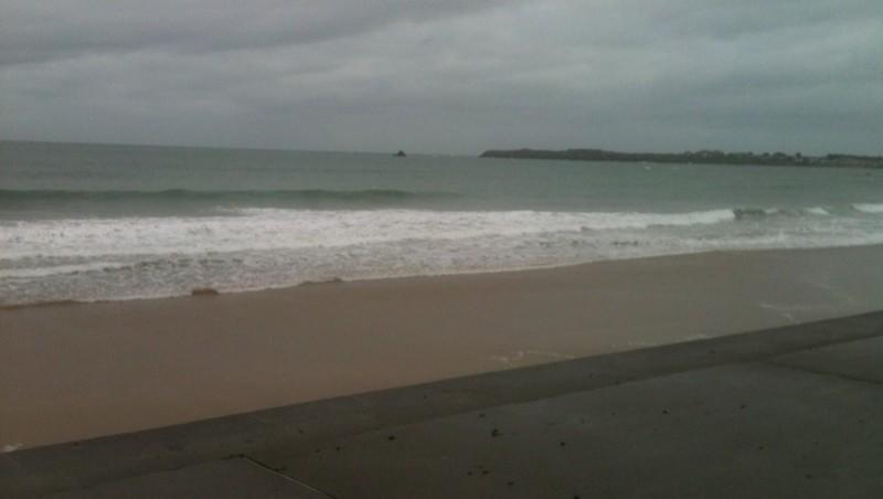 Surf report Saint-Malo - Le Sillon - France (35) 2013-11-06 14:35:00