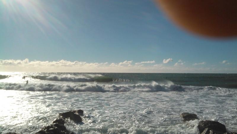 Surf report Sausset les Pins - Plage du Port - France (13) 2013-12-26 11:25:00