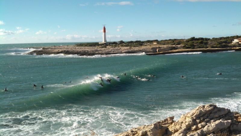 Surf report La Couronne - France (13) 2013-12-26 11:55:00