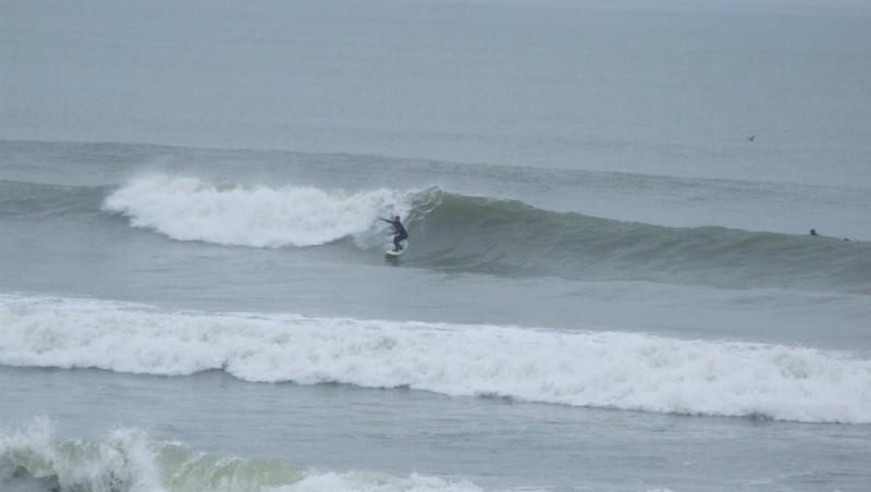 Surf report Montalivet - France (33) 2013-01-08 12:00:00