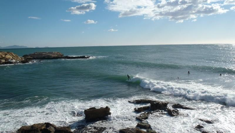 Surf report L'Arquet - France (13) 2013-01-11 13:00:00