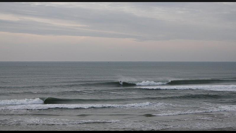 Surf report Lacanau Océan - La Nord - France (33) 2013-01-17 16:00:00