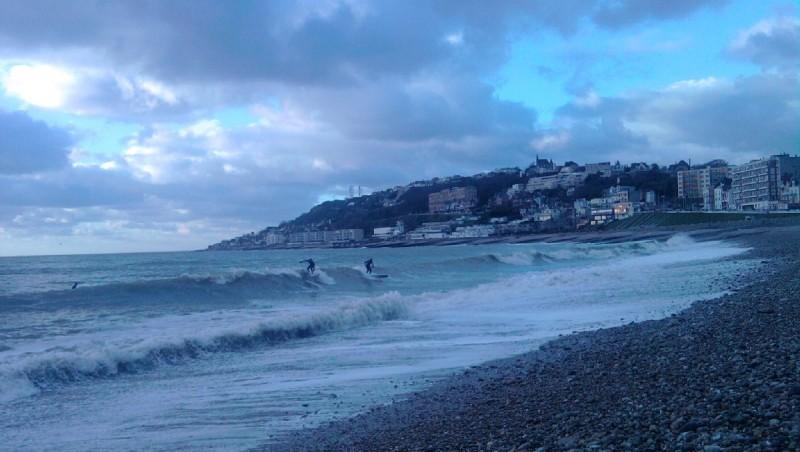 Surf report Le Havre - Les Régates - France (76) 2013-02-02 16:00:00