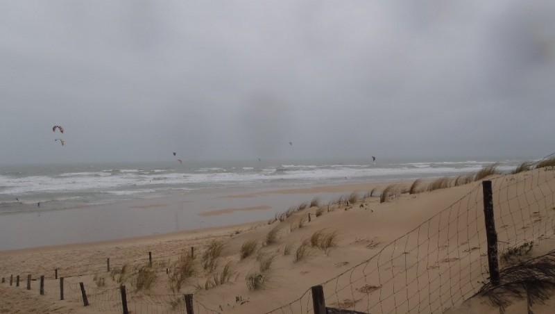 Wind report Le Porge - France (33) 2013-02-10 11:00:00