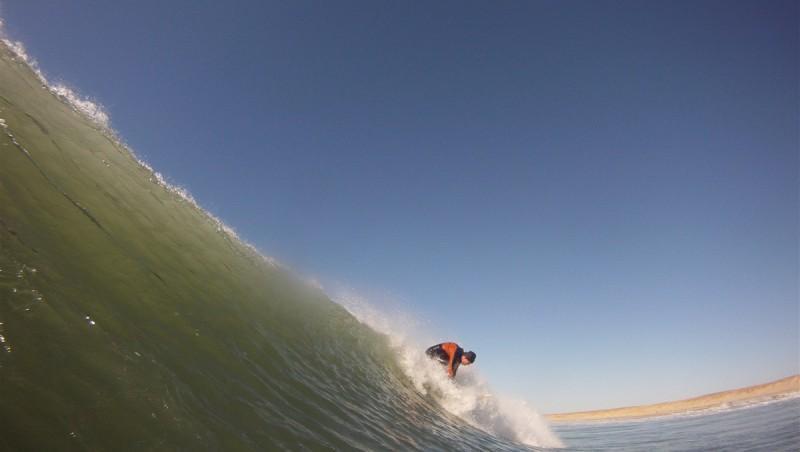 Surf report Carcans Océan - France (33) 2013-02-16 14:00:00