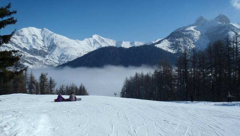 Snow report Ancelle - France (05) 2013-02-21 10:00:00