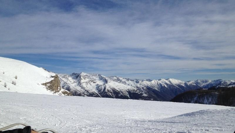 snow report Auron - France (06) 2013-01-07 12:00:00