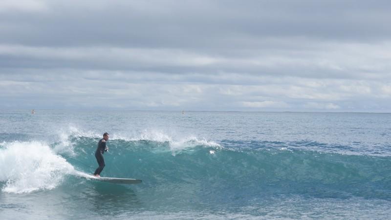 Surf report Beaulieu sur Mer - Niven - France (06) 2013-03-18 11:00:00