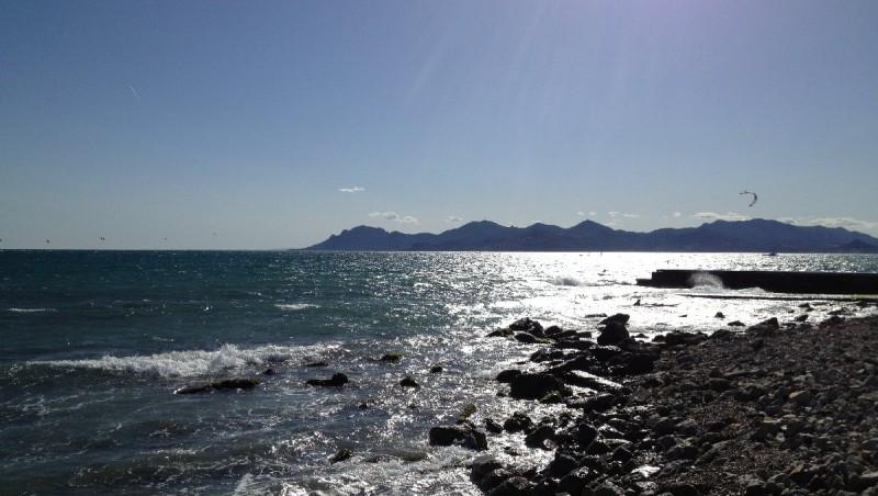 Wind report Cannes - Palm Beach - France (06) 2013-04-12 17:00:00