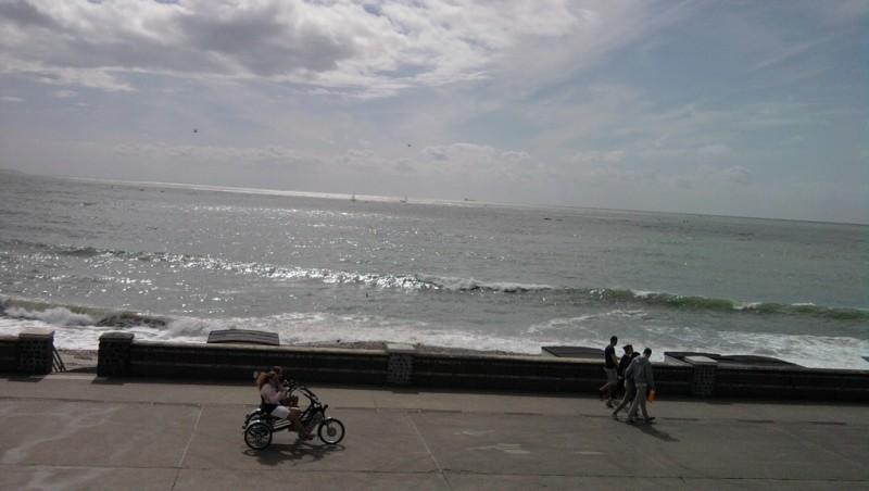 Surf report Le Havre - Les Régates - France (76) 2013-04-18 16:00:00