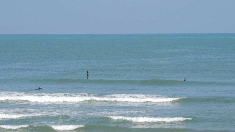 Surf report Vieux Boucau - France (40) 2013-04-21 10:00:00
