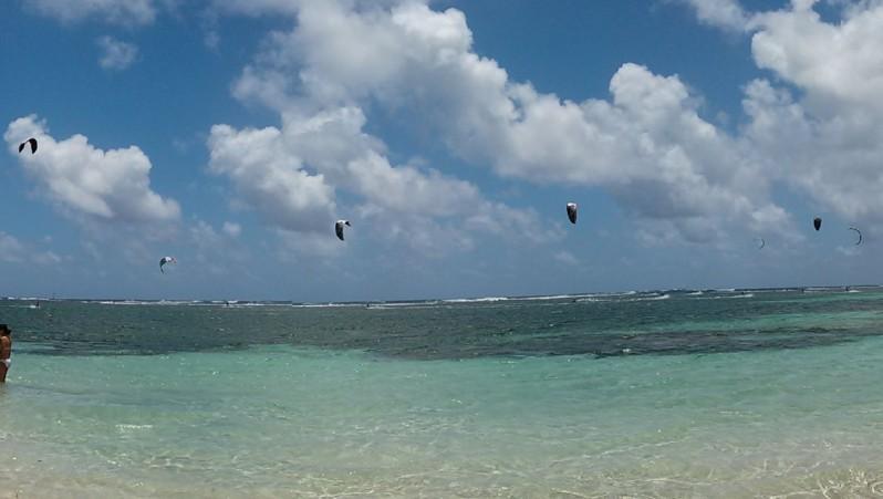 Wind report Cap Chevalier - Martinique (MQ) 2013-04-18 10:00:00