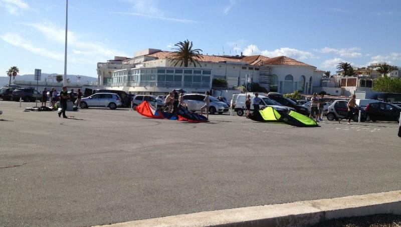 Wind report Cannes - Palm Beach - France (06) 2013-05-12 17:00:00
