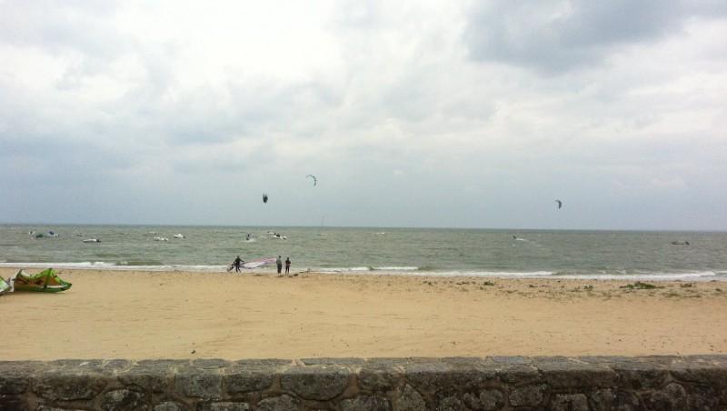 Wind report Les Sableaux - France (85) 2013-05-18 14:00:00