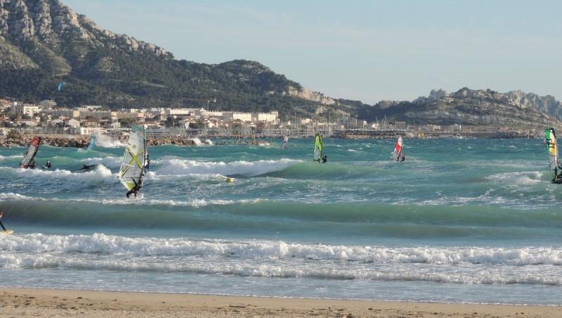 Surf report Le Prado - France (13) 2013-05-24 22:00:00