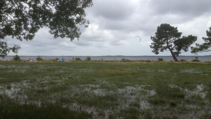 Wind report Lacanau Lac - France (33) 2013-06-22 13:00:00