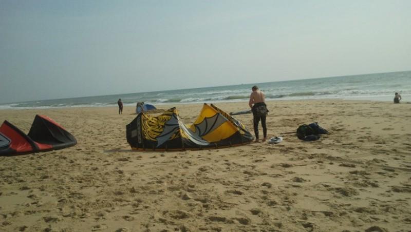 Wind report Le Porge - France (33) 2013-06-27 15:00:00