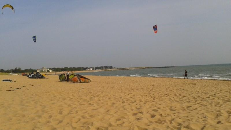 Wind report Les Boulassiers - France (17) 2013-07-14 07:00:00