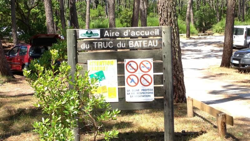 Wind report Le Truc vert - France (33) 2013-07-28 13:00:00