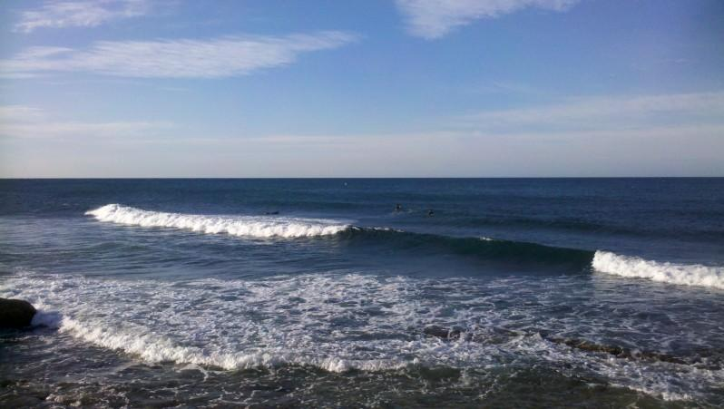 Surf report Sausset les Pins - Plage du Port - France (13) 2013-08-25 07:00:00
