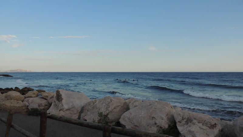 Surf report Sausset les Pins - Plage du Port - France (13) 2013-08-25 08:00:00