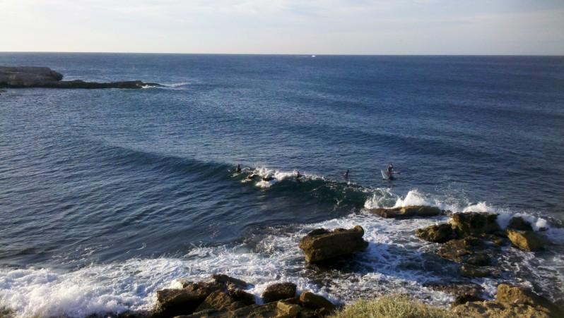 Surf report L'Arquet - France (13) 2013-08-25 17:00:00