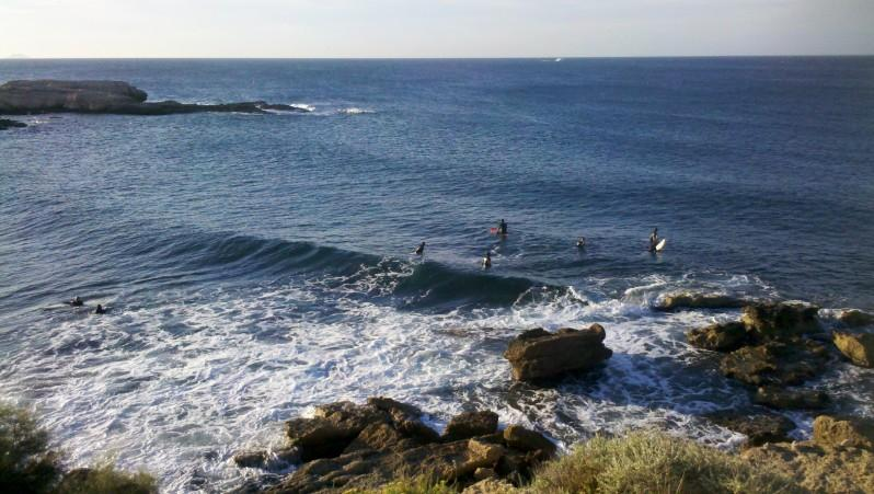 Surf report L'Arquet - France (13) 2013-08-25 17:00:00