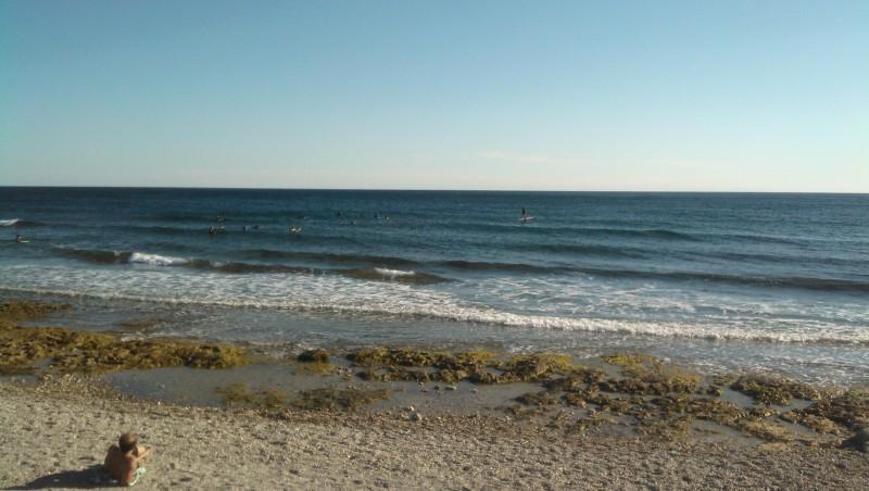 Surf report Sausset les Pins - Plage du Port - France (13) 2013-09-11 17:00:00