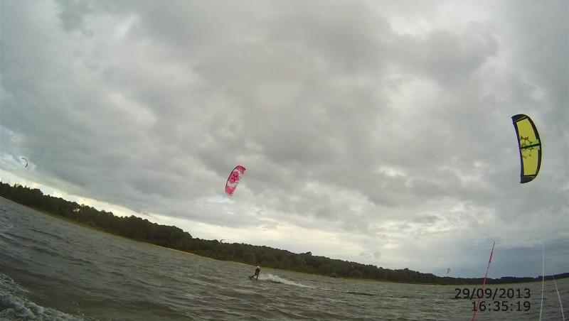 Wind report Les Aigrettes - France (40) 2013-09-29 12:00:00