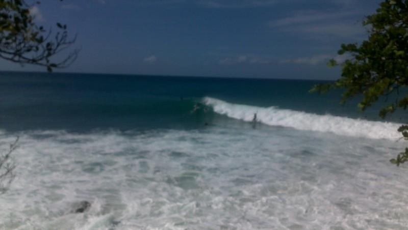 Surf report Bananier - Guadeloupe (GP) 2013-10-01 11:00:00