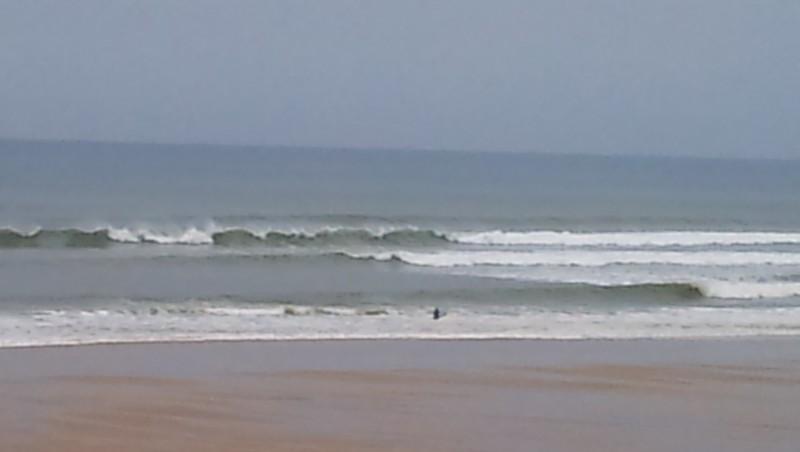 Surf report Carcans Océan - France (33) 2013-10-09 09:00:00