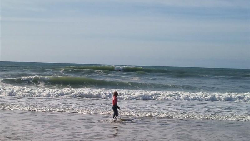 Surf report Carcans Océan - France (33) 2013-10-31 13:00:00