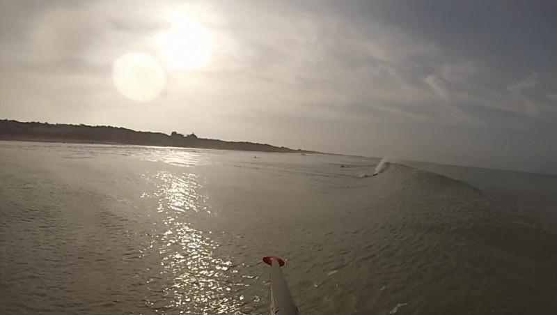 Surf report Le Lizay - France (17) 2014-01-12 14:00:00