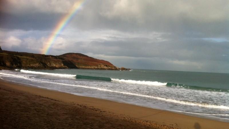 Surf report Longchamp - France (35) 2014-01-20 15:00:00