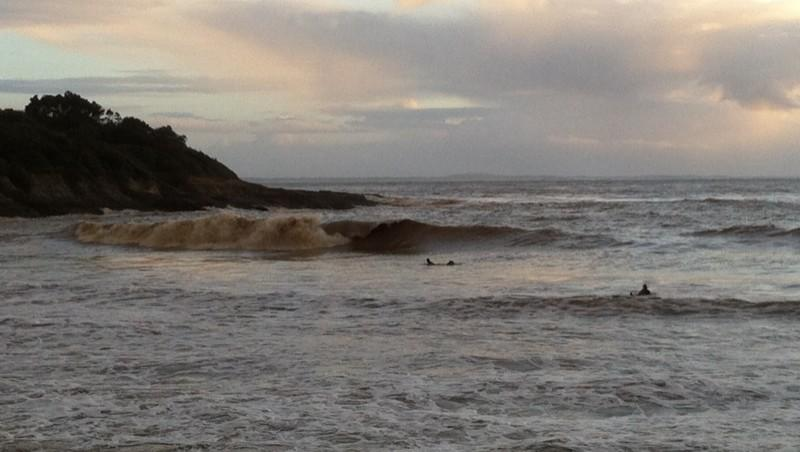 Surf report Royan - Pontaillac - France (17) 2014-02-02 18:00:00