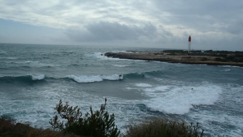 Surf report La Couronne - France (13) 2014-02-15 14:40:00