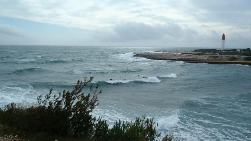 Surf report La Couronne - France (13) 2014-02-15 14:40:00