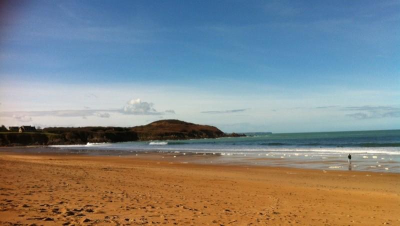 Surf report Longchamp - France (35) 2014-02-22 13:00:00