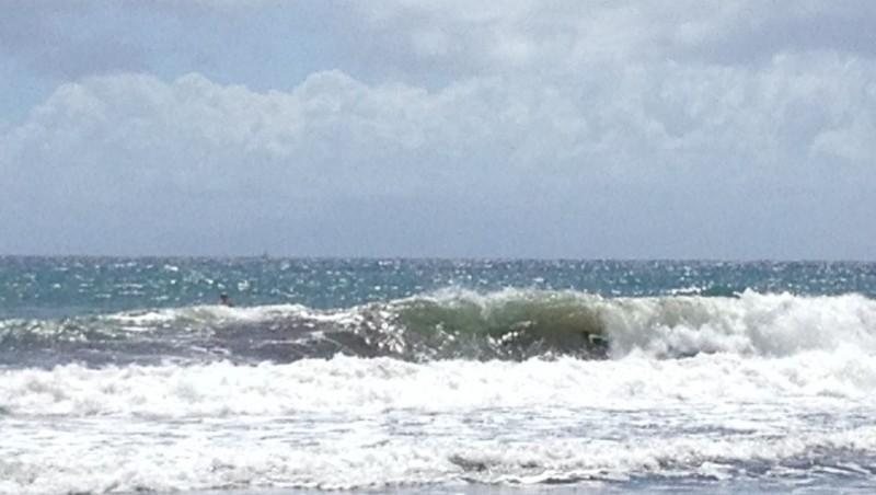Surf report Bananier - Guadeloupe (GP) 2014-02-22 11:00:00
