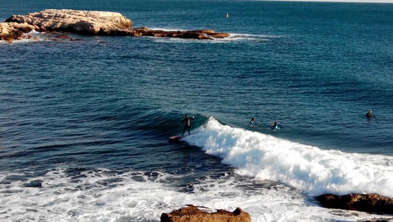 Surf report L'Arquet - France (13) 2014-03-01 16:00:00
